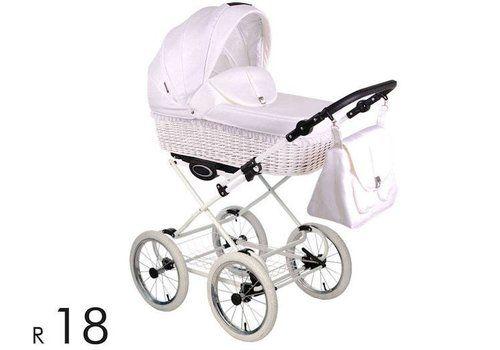 Retro kinderwagen Retro - 3 in 1 - Baby en Kinderwereld ...