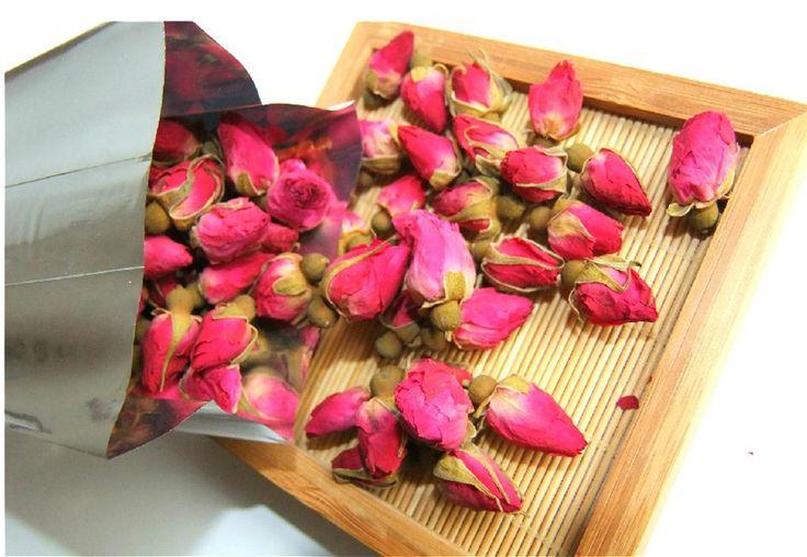 250 г органический красная роза - бутон розы бутоны цветочный цветочный травяной сушат здравоохранения китайский чай для женщин Ladys антивозрастной послеобеденный чай