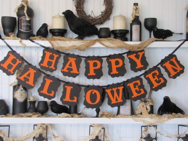 Πάνω από 25 κορυφαίες ιδέες για Happy halloween banner στο ...
