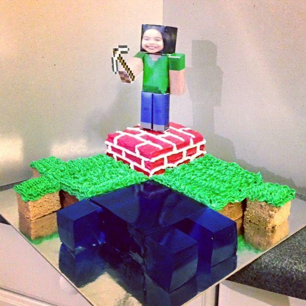 Best 25 Minecraft Ideas On Pinterest: 25+ Best Homemade Minecraft Cakes Ideas On Pinterest