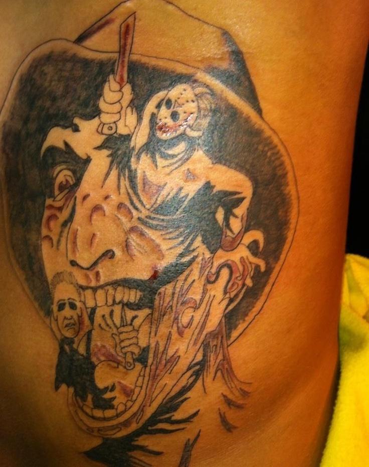 Best 25 Horror tattoos ideas on Pinterest  Horror movie