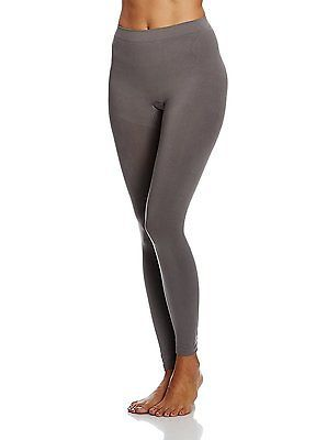 48W x Regular, Grau (anthrazit 032), bellycloud Women's Seamless Leggings