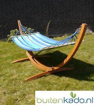 Grote design houten hangmatstandaard standaard voor hangmat