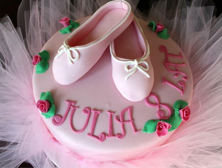 Orchideli tort urodzinowy dla baletnicy, pink ballerina birthday cake for girls