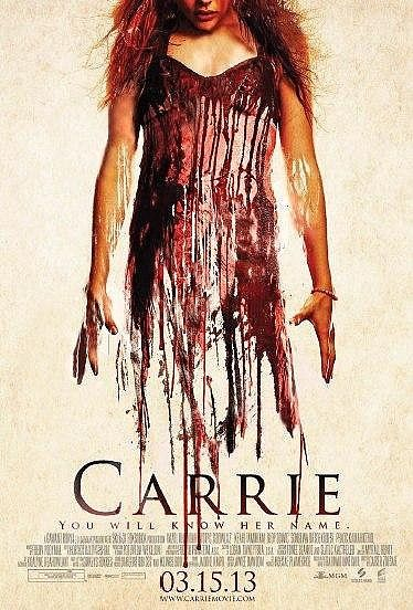New Blood-Soaked Carrie Poster Rides In watched