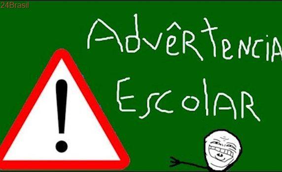 As  advertências escolares mais engraçadas