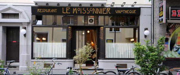Cool Das Le Moissonnier in K ln Wirkungsst tte von Eric Menchon Moissonnier Pinterest