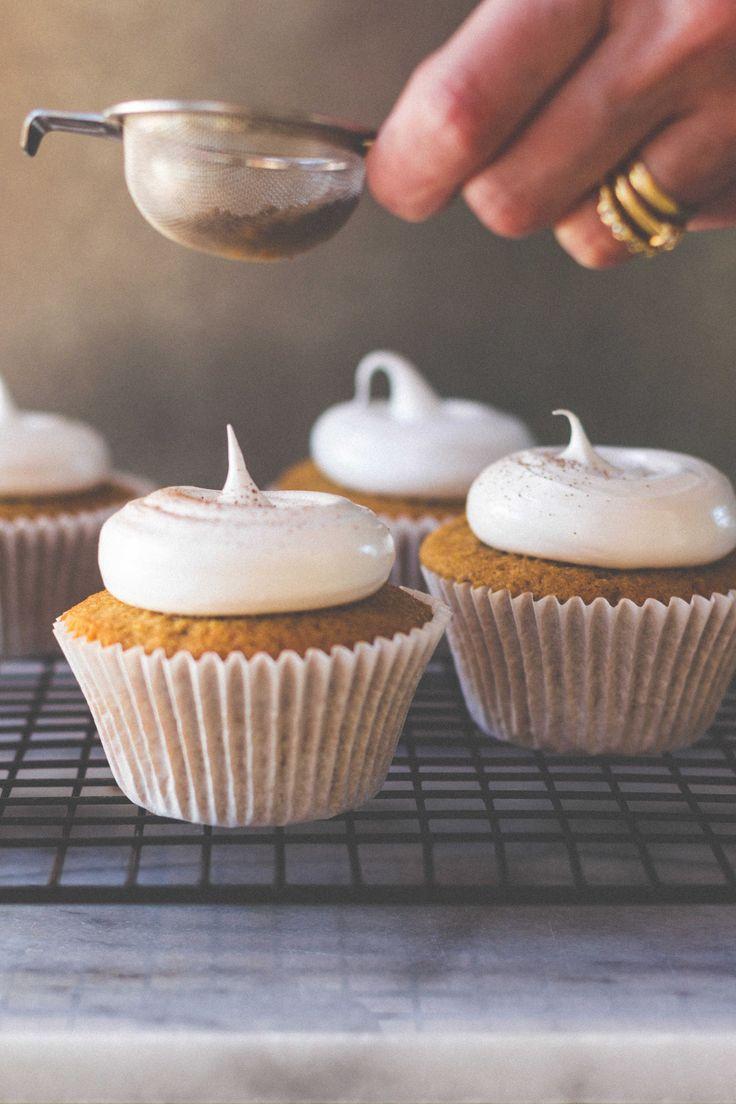 Coffee Cupcakes with Italian Meringue Frosting – Bakelife