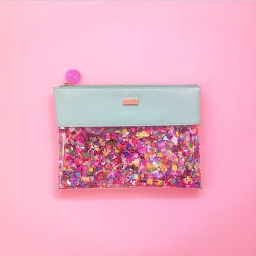 louweezwee:  proud of my @shopbando girls on the launch of their new product line!  love this clear pouch the most! by designlovefest http://ift.tt/1upR6yp