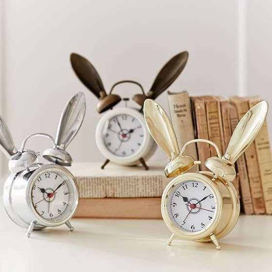 Alarm clocks with some serious ears.