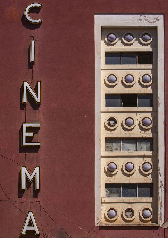 Old Roma Impero Cinema, Asmara, Eritrea