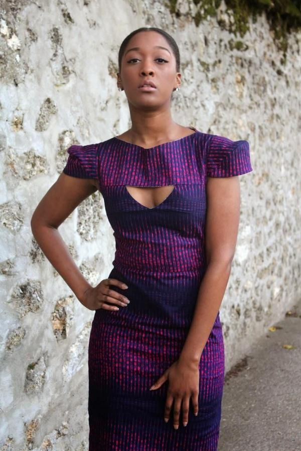 Inspiration - Robe violet par Melocy | Pagnifik