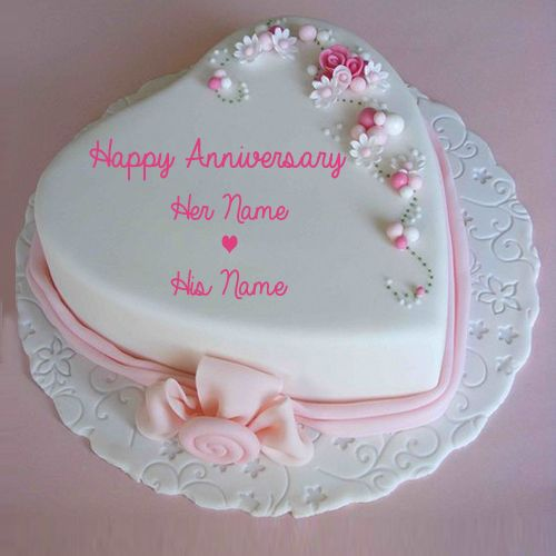 Cake Images With Name Prachi : Best 25+ Marriage anniversary cake ideas on Pinterest ...
