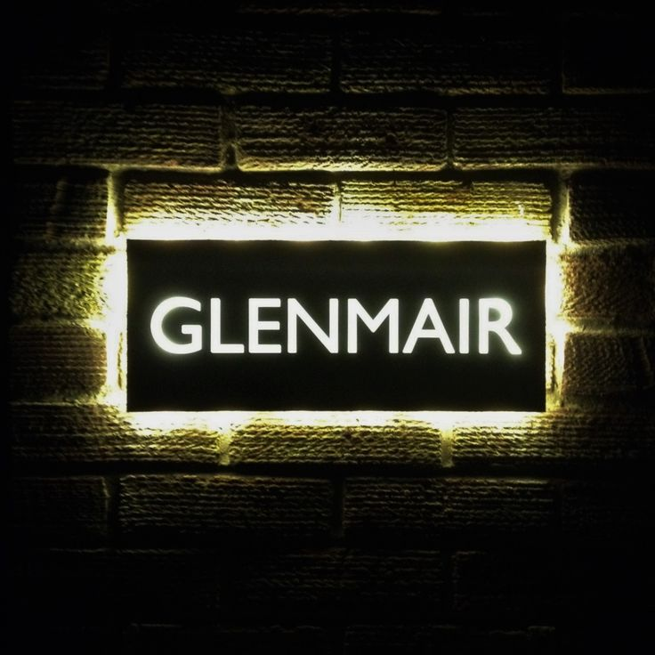 17 Best Images About Illuminated Led House Name Plates On - decorative name plates for home