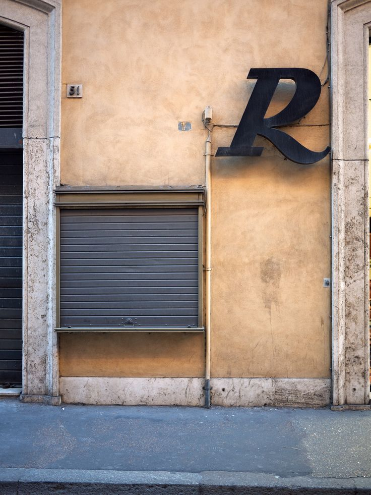 Typography in Rome #typography #R
