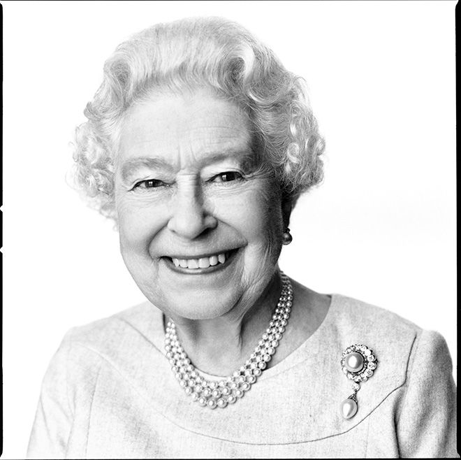 The Queen Elizabeth II / by David Bailey