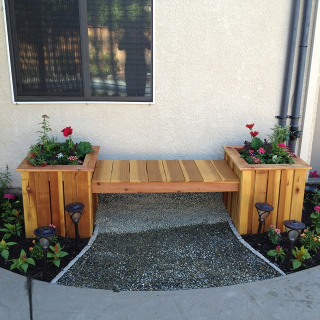 33 Best Images About Wood Planter Tree Box On Pinterest: 40 Best Images About Planter Boxes On Pinterest