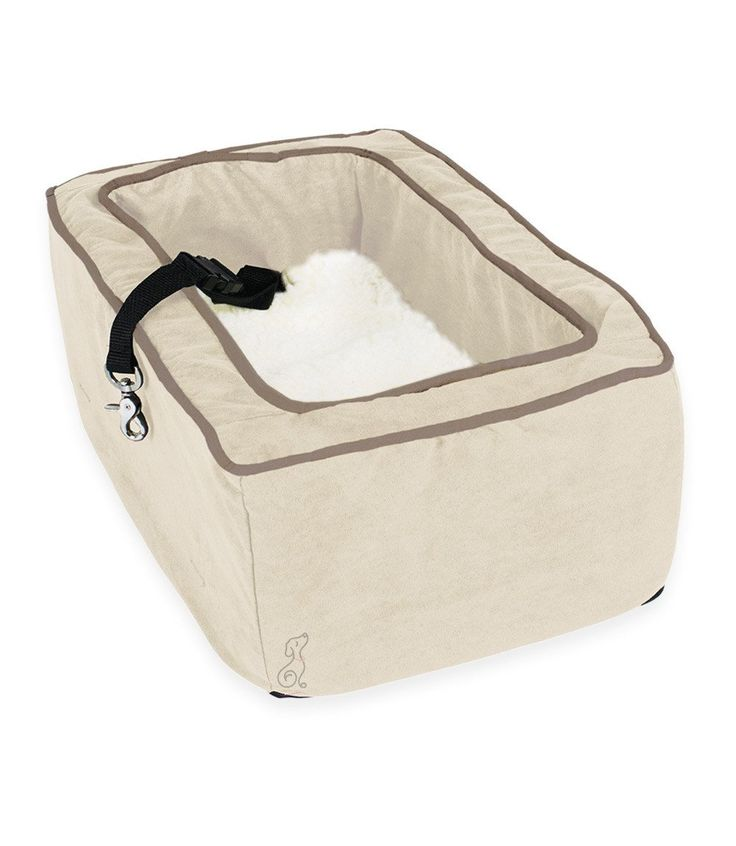 Console Dog Car Seat Microsuede - Large SUV Size