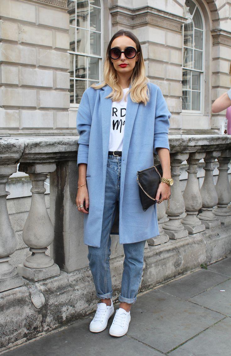Danielle wears: Coat: River Island, Jeans: River Island, Top: River Island, Trainers: Zara, Bag: Whistles Alexandra Haddow -Cosmopolitan.co.uk