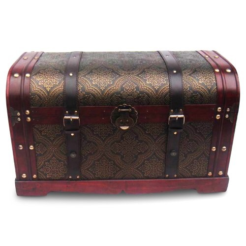 Find it at the Foundary - Old World Victorian Decorative Trunk