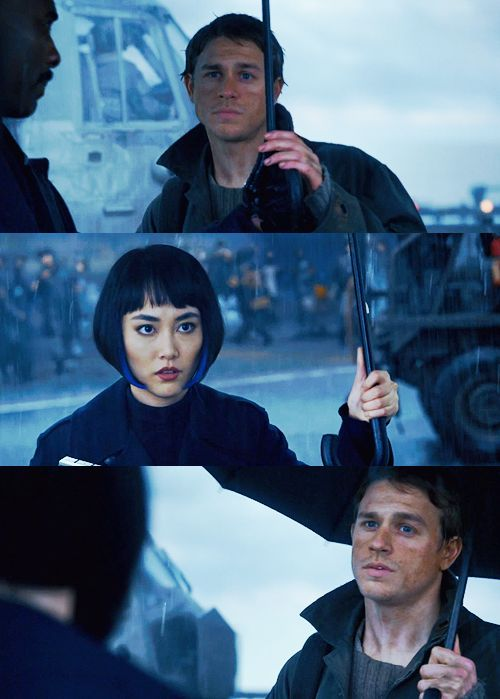 Pacific Rim Mako Mori and Raleigh Becket.