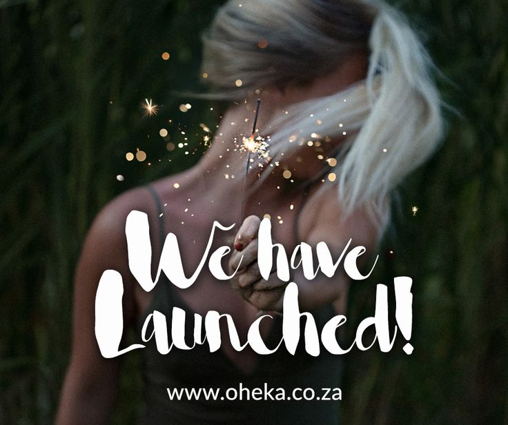 We have launched! Visit Oheka.co.za today to start shopping for amazing South African products!