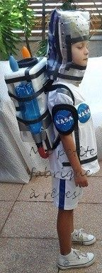 Déguisement enfant astronaute cosmonaute facile à faire