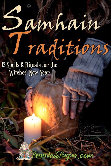 Samhain Traditions: 13 Simple & Affordable Halloween Spells & Rituals for the Witches' New Year is now on sale!!! #Pagan #Wiccan #Samhain #Halloween #Spells #Rituals #Sabbat #Witch #Witchcraft #October