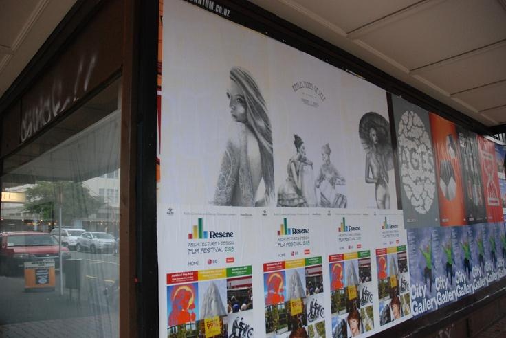 Reflections of Self - Corner Ghuznee and Cuba Streets, Wellington, NZ