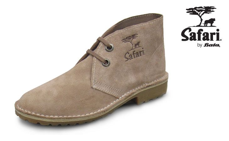 Made of the best cowhide and still hand stitched at the Bata factory in Limuru, the modern Safari is available in a variety of finishes and styles for men and women. #batashoes
