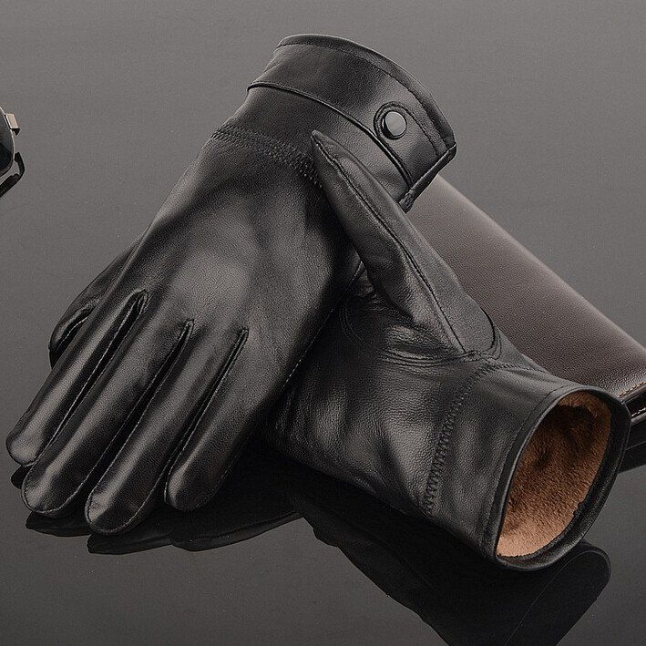 Men's Stylish Leather Gloves