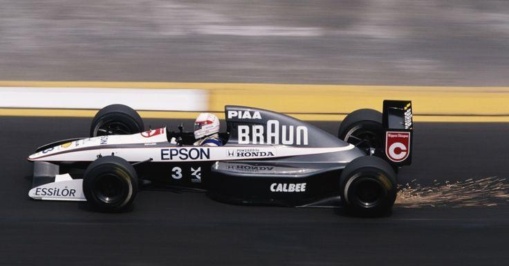 Satoru Nakajima Tyrrell - Honda 1991