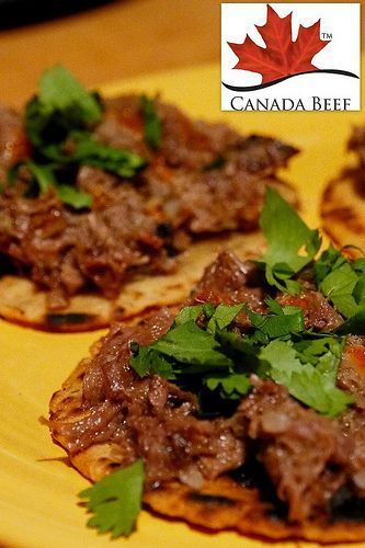 This month's recipe in the Chefs #LoveCDNbeef series is Chef Jesse Vergen's Beef Tongue Taco.    A hit at my house and a great value too!