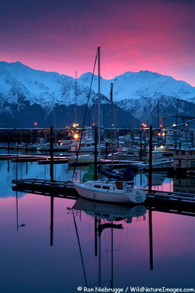 #Alaska, northern lights, magenta sunsets.  #See Alaska USA - We cover the world over 220 countries, 26 languages and 120 currencies Hotel and Flight deals.guarantee the best price