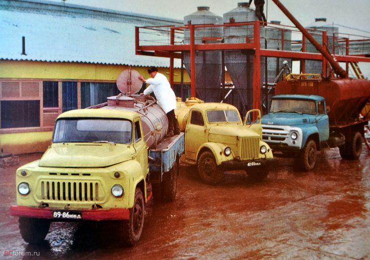 Молоковозки, 1975 год