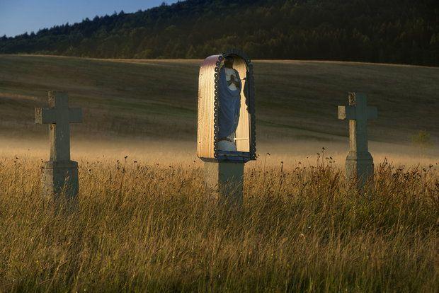 Beskid Niski - poplątane drogi i szlaki, wioski widma, puste cerkwie