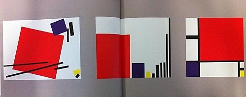 Mondrian (mêmes formes données à tous)