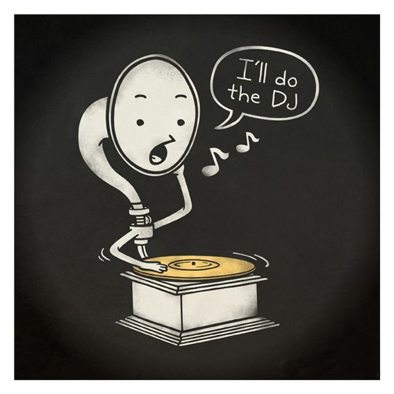 everybody wants to be a DJ