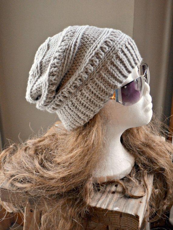 CROCHET PATTERN-Everly Slouch Hat Crochet hat by CassJamesDesigns ...