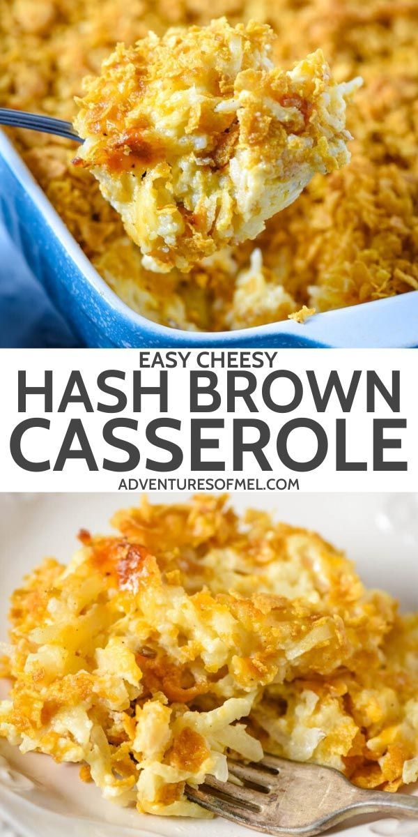 Mar 23, 2020 – Make ahead a cheesy hash brown casserole recipe, filled with shredded potatoes and topped with Corn Flake…