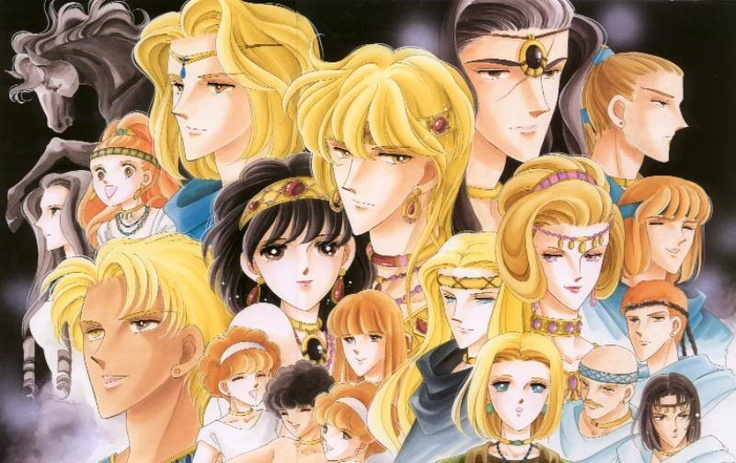 one of my fave manga! i get to learnt bout some egypt history too!
