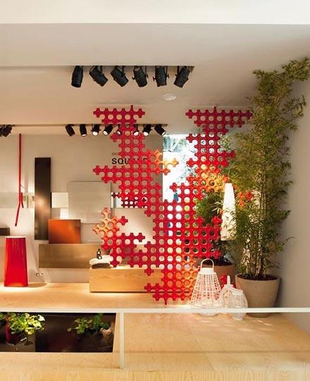 Soluzione moderna ed originale per arredare lo spazio by #Tubes - www.gasparinionline.it #casa arredo #interiors #designideas
