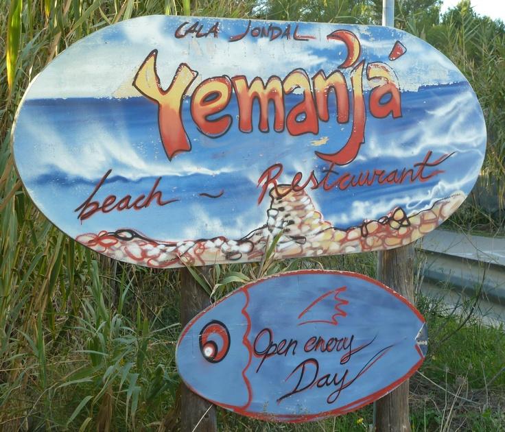 Yemanja Beach Restaurant, Cala Jondal , Ibiza...