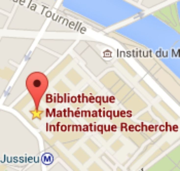 It's official ! My new job will start on March 1st at #LaSorbonne mathematics and computer science library of #Jussieu. Ebooks cataloging #cataloging #newjob #librarian #wokinparis