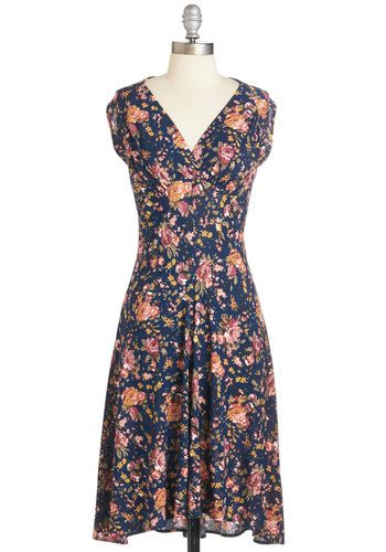 Giddy Glamour Dress by #Modcloth. Comfy and wrinkle-free dress. Should have got a XS instead of S.