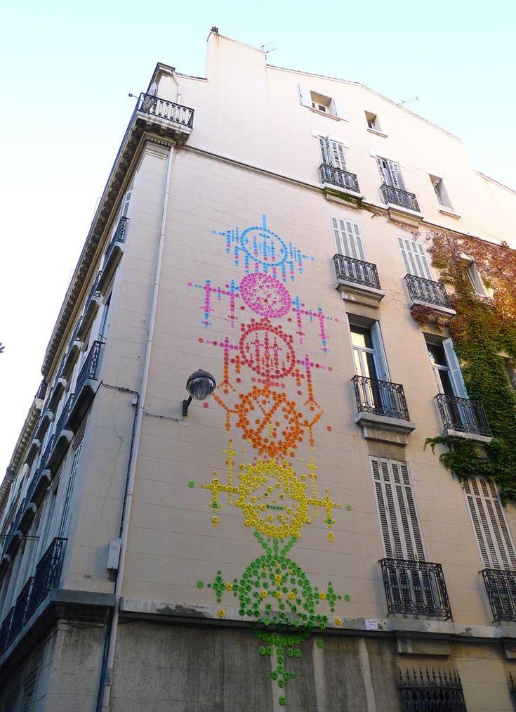 Origami Street Art -Mademoiselle Maurice