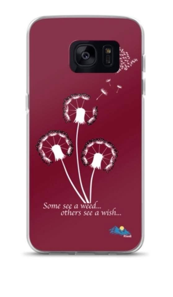 """Rise8 """"Weed to Wish"""" Samsung Case"""