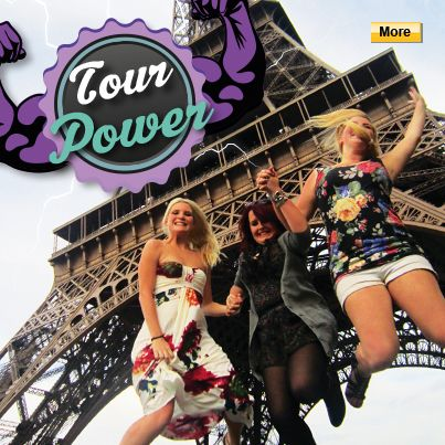 It's tour power month! #StudentFlights #GoYourOwnWay