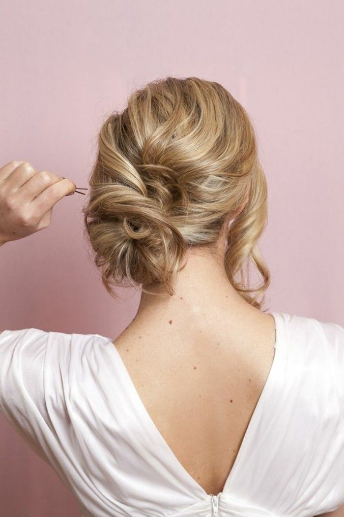 17 best ideas about chignon bas on pinterest coiffure chignon coiffure facile and chignons - Coiffure chignon facile ...