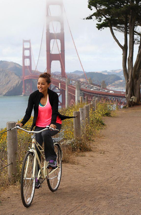 High fived everyone, cycling the Golden Gate Bridge ✔️